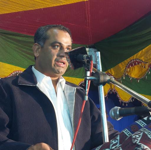 Lal Chand Malhi Durring Speech