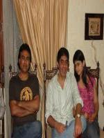Sanjay Perwani with Sunil Navani