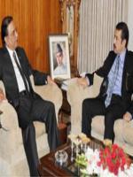 Abbas Khan Afridi With Zardaari