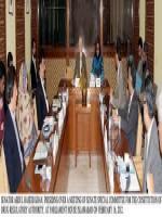 Abdul Haseeb Khan in Meeting