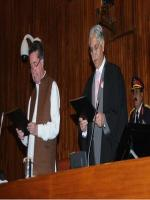 Afrasiab Khattak Talking Oath