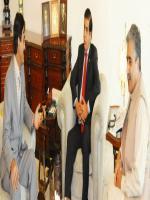Amar Jeet With Ch.Pervaiz Ashraf
