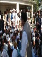 Baz Muhammad Khan  Addressing to people
