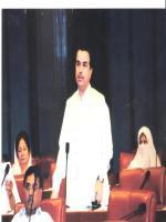 Engr. Muhammad Hamayun Khan Mandokhel in Senate