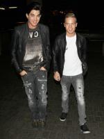 Adam Lambert and his boyfried