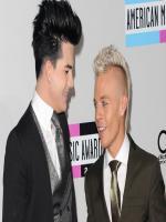Adam Lambert with Boyfriend Sauli Koski