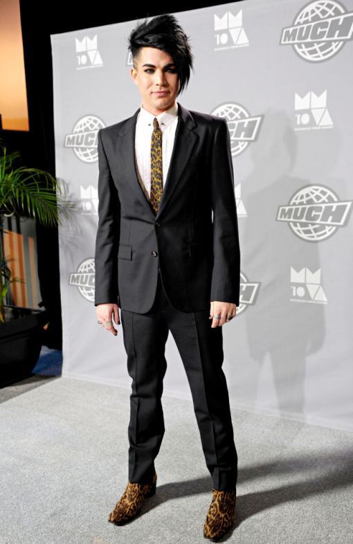 Adam Lambert at TV show