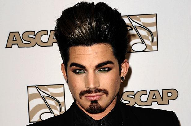Adam Lambert new hair style