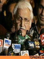 Farhatullah Babar Talks to Media