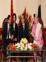 Farooq Hamid Naek with Wen jiabao