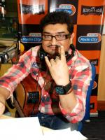 Neeraj Shridhar at Radio city
