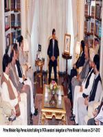 Haji Khan Afridi With raja Pervaiz Ashraf