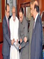 Hari Ram With President