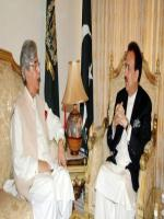 Ilyas Ahmad Bilour with Rehman Malik