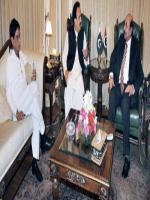 Islamuddin Shaikh With Rehman Malik