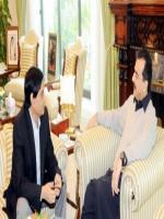 Islamuddin Shaikh with Yousof Raza Gillani