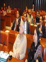 Kalsoom Perveen in Senate