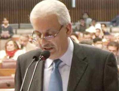 Mian Raza Rabbani in Senate