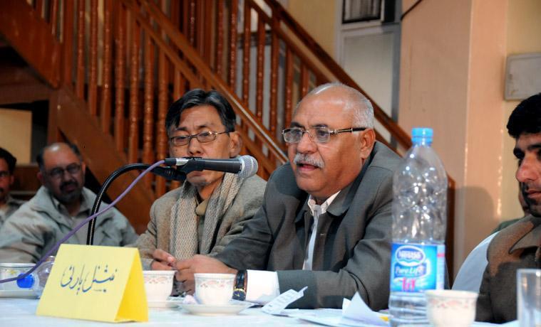 Mir Hasil Khan Bizenjo In Gathering of NP
