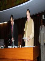 Mir Muhammad Ali Rind Talking Oath