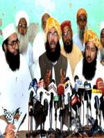 Molana Abdul Ghafoor Haideri Talks to Media
