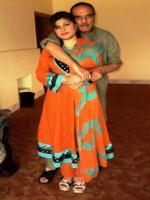 Muhammad Azam Khan Hoti With Wife