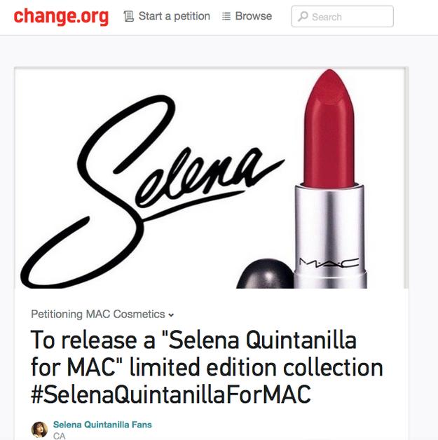 Selena Quintanilla on Internet Social Media