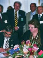 Muhammad Yousaf with Autralian Members