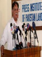 Pervaiz Rashid Speech