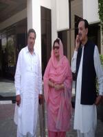 Raja Muhammad Zafar-ul-Haq with Khalid Massod