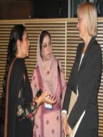 Rubina Irfan with forigner