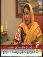 Rubina Irfan Talks to Media