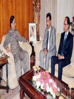 Saeed Ghani With Zardari