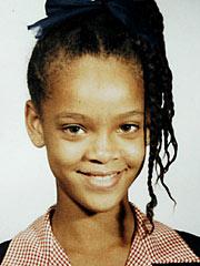 Rihanna Childhood