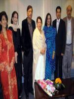 Saeeda Iqbal Group Photo