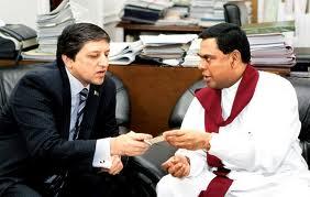 Saleem Mandviwalla With Srilankan Member