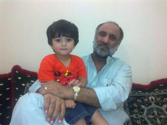 Sardar Fateh Muhammad Muhammad Hassani With Family