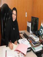 Sehar Kamran in Office