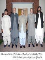 Sirdar Zulfiqar Ali Khan Khosa With Shahbaz Sharif