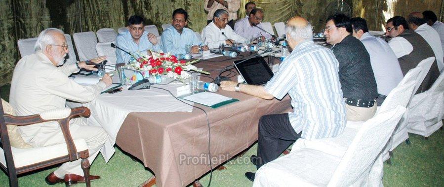 Sirdar Zulfiqar Ali Khan Khosa in Meeting