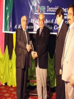 Syed Muzafar Hussain Shah Distributing Awards