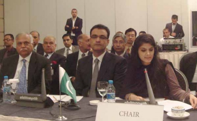 Syeda Sughra Hussain Imam in Senate