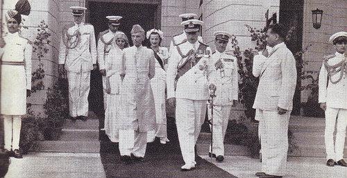 Muhammad Ali Jinnah with His Sister