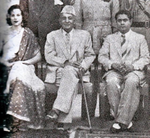 Malik Ghulam Muhammad With His Favorite