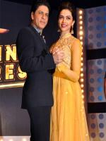 Deepika Padukone with King Khan