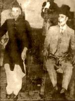 Sir Chaudhry Muhammad Zafarullah Khan With Quaid-e-Azam