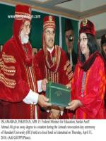 Aseff Ahmad Ali Durring Degree Distribution