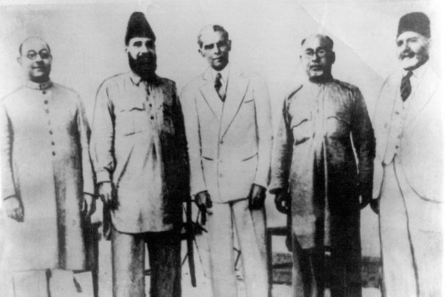 Allama Mashriqi With Quid-e-Azam