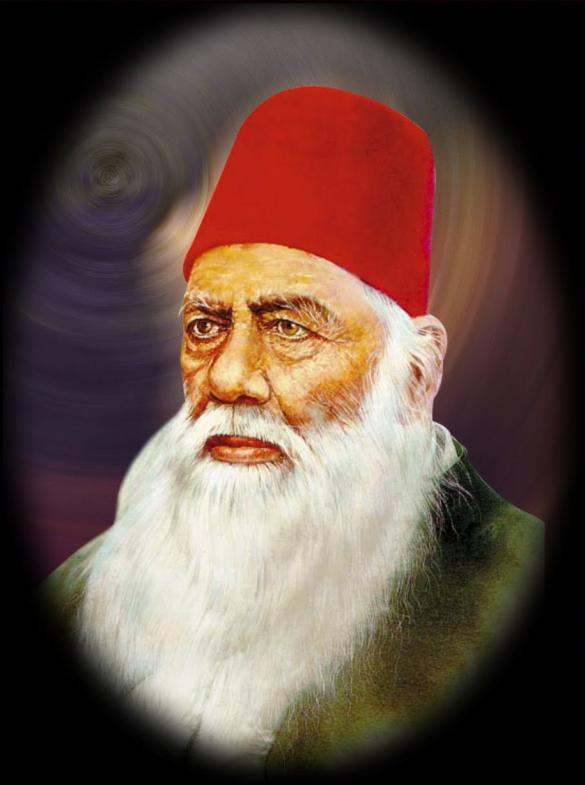 sir syed ahmed khan educational services Educational services sir syed ahmed khan knew that the muslims could not achieve this goal without education he set up a persian school at muradabad in 1859.