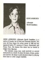 Gene Eugene Childhood Photos